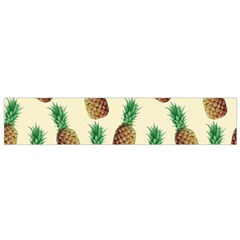 Pineapple Wallpaper Pattern Flano Scarf (Small)