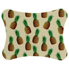 Pineapple Wallpaper Pattern Jigsaw Puzzle Photo Stand (Bow)
