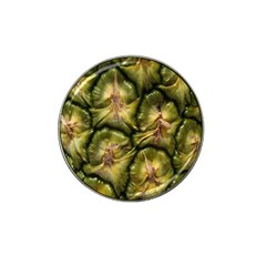 Pineapple Fruit Close Up Macro Hat Clip Ball Marker (4 Pack)