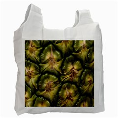 Pineapple Fruit Close Up Macro Recycle Bag (Two Side)