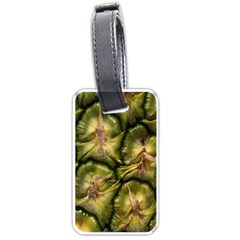 Pineapple Fruit Close Up Macro Luggage Tags (Two Sides)