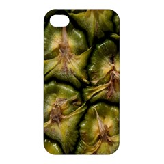 Pineapple Fruit Close Up Macro Apple Iphone 4/4s Hardshell Case