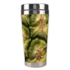 Pineapple Fruit Close Up Macro Stainless Steel Travel Tumblers