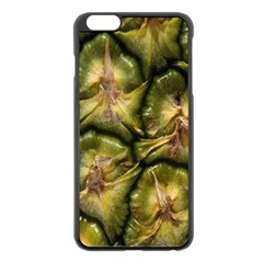 Pineapple Fruit Close Up Macro Apple Iphone 6 Plus/6s Plus Black Enamel Case