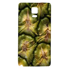 Pineapple Fruit Close Up Macro Galaxy Note 4 Back Case