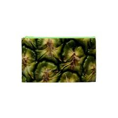 Pineapple Fruit Close Up Macro Cosmetic Bag (XS)