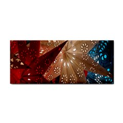 Poinsettia Red Blue White Cosmetic Storage Cases