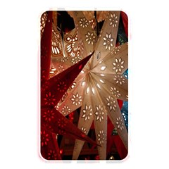 Poinsettia Red Blue White Memory Card Reader