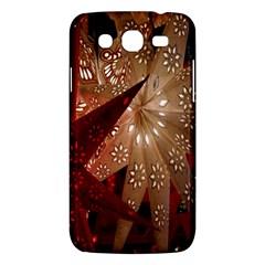Poinsettia Red Blue White Samsung Galaxy Mega 5 8 I9152 Hardshell Case