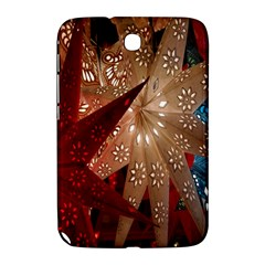 Poinsettia Red Blue White Samsung Galaxy Note 8 0 N5100 Hardshell Case