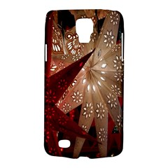 Poinsettia Red Blue White Galaxy S4 Active
