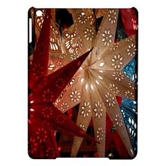 Poinsettia Red Blue White Ipad Air Hardshell Cases