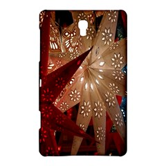 Poinsettia Red Blue White Samsung Galaxy Tab S (8 4 ) Hardshell Case