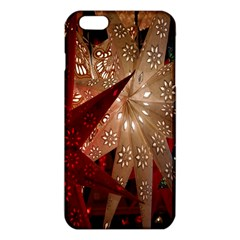 Poinsettia Red Blue White Iphone 6 Plus/6s Plus Tpu Case