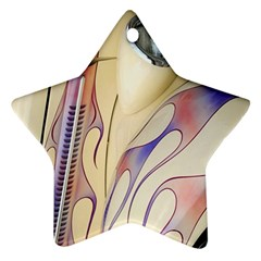 Pin Stripe Car Automobile Vehicle Star Ornament (Two Sides)