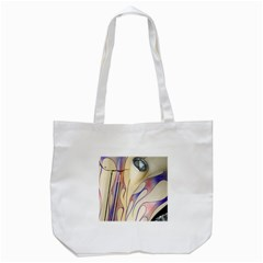 Pin Stripe Car Automobile Vehicle Tote Bag (white)