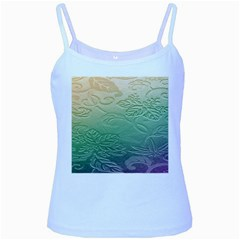 Plants Nature Botanical Botany Baby Blue Spaghetti Tank