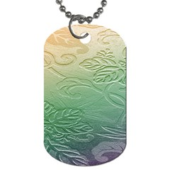 Plants Nature Botanical Botany Dog Tag (One Side)