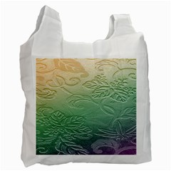 Plants Nature Botanical Botany Recycle Bag (two Side)