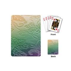 Plants Nature Botanical Botany Playing Cards (Mini)