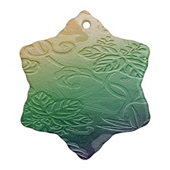 Plants Nature Botanical Botany Ornament (snowflake)