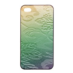 Plants Nature Botanical Botany Apple Iphone 4/4s Seamless Case (black)