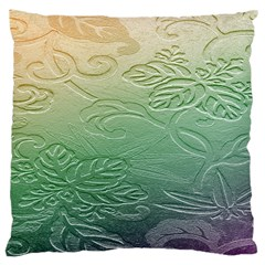 Plants Nature Botanical Botany Large Cushion Case (Two Sides)
