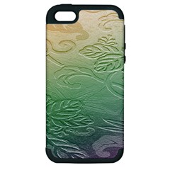 Plants Nature Botanical Botany Apple Iphone 5 Hardshell Case (pc+silicone)