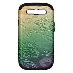 Plants Nature Botanical Botany Samsung Galaxy S Iii Hardshell Case (pc+silicone)