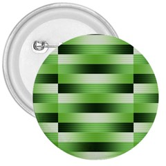 Pinstripes Green Shapes Shades 3  Buttons