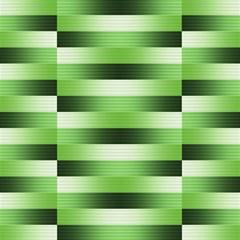 Pinstripes Green Shapes Shades Magic Photo Cubes