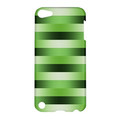 Pinstripes Green Shapes Shades Apple Ipod Touch 5 Hardshell Case