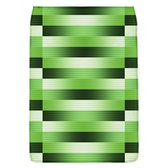 Pinstripes Green Shapes Shades Flap Covers (l)