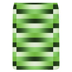 Pinstripes Green Shapes Shades Flap Covers (s)