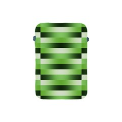 Pinstripes Green Shapes Shades Apple Ipad Mini Protective Soft Cases