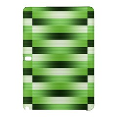 Pinstripes Green Shapes Shades Samsung Galaxy Tab Pro 12 2 Hardshell Case