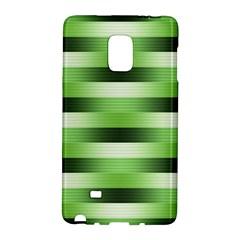 Pinstripes Green Shapes Shades Galaxy Note Edge
