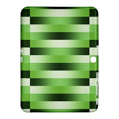 Pinstripes Green Shapes Shades Samsung Galaxy Tab 4 (10 1 ) Hardshell Case
