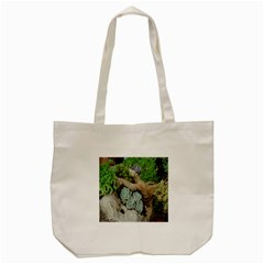 Plant Succulent Plants Flower Wood Tote Bag (Cream)