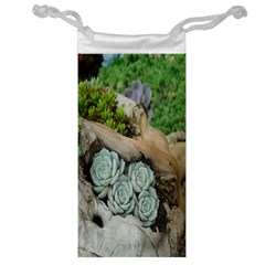 Plant Succulent Plants Flower Wood Jewelry Bag