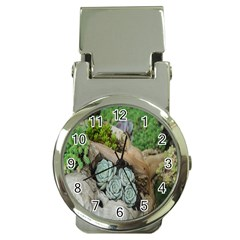 Plant Succulent Plants Flower Wood Money Clip Watches
