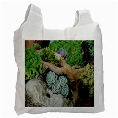 Plant Succulent Plants Flower Wood Recycle Bag (two Side)