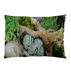 Plant Succulent Plants Flower Wood Pillow Case (Two Sides)