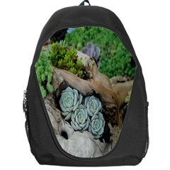 Plant Succulent Plants Flower Wood Backpack Bag