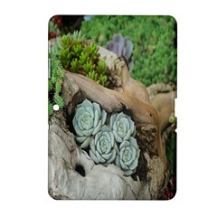 Plant Succulent Plants Flower Wood Samsung Galaxy Tab 2 (10.1 ) P5100 Hardshell Case
