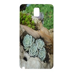 Plant Succulent Plants Flower Wood Samsung Galaxy Note 3 N9005 Hardshell Back Case