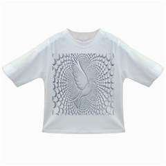 Points Circle Dove Harmony Pattern Infant/Toddler T-Shirts