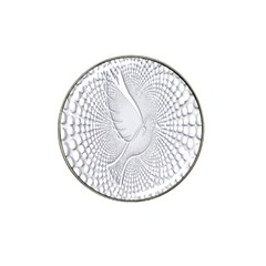 Points Circle Dove Harmony Pattern Hat Clip Ball Marker (4 pack)