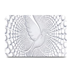 Points Circle Dove Harmony Pattern Plate Mats