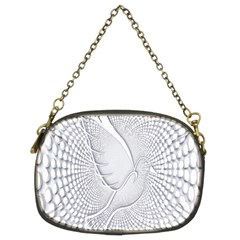 Points Circle Dove Harmony Pattern Chain Purses (Two Sides)
